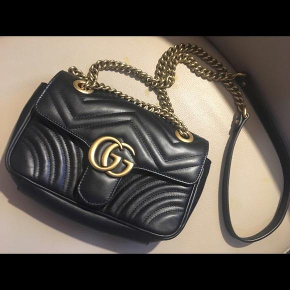 8974f08f22f0 Gucci Handbags - Gucci GG Marmont Matelassé mini bag